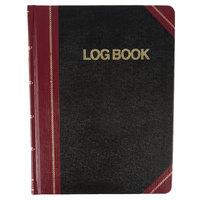 Boorum & Pease BOR G21-150-R 8 1/8 inch x 10 3/8 inch Black / Red Log Book