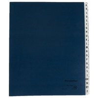 Pendaflex PFX DDF3-OX Letter Size 20-Pocket Desk File/Sorter - A-Z Indexed, Dark Blue