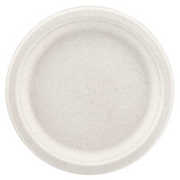 Green Wave Ovation Sugarcane / Bagasse OV-P009 9 inch Premium Biodegradable and Compostable Plate - 125 / Pack