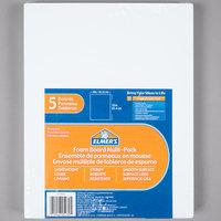 Elmer's 950020 8 inch x 10 inch White Pre-Cut Polystyrene Foam Board