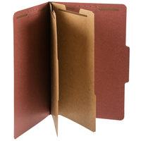 Pendaflex PFX 2257R Legal Size Moisture-Resistant Classification Folder - 10/Box