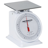 Cardinal Detecto PT-5 White 5 lb. Mechanical Portion Scale