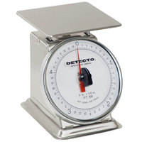 Cardinal Detecto PT-5-SR 5 lb. Stainless Steel Mechanical Portion Control Scale with Rotating Dial