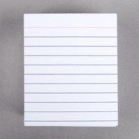 Oxford OXF 10009 3 inch x 2 1/2 inch White Ruled Mini Index Card - 200/Pack