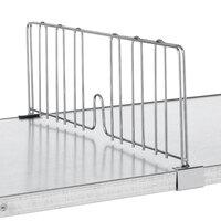 Metro DD14FC 14 inch Super Erecta Chrome Wire Shelf Divider