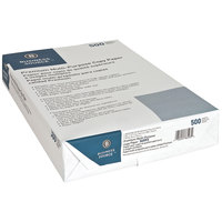 8 1/2 inch x 14 inch White Ream of 20# Multipurpose Paper - 500 Sheets