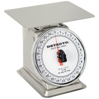 Cardinal Detecto PT-25-SR Stainless Steel 25 lb. Mechanical Portion Control Scale