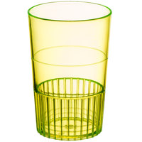 Fineline Quenchers 4115-Y 1.5 oz. Neon Yellow Hard Plastic Shooter Glass - 500/Case