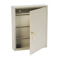 Steelmaster 201911003 14 inch x 3 1/8 inch x 17 1/8 inch Sand Key Lock Steel 110 Uni-Tag Key Cabinet