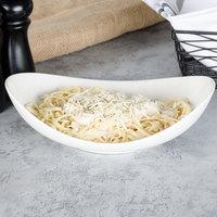 Bon Chef 1200003P Globe 12 oz. White Porcelain Pasta Bowl - 18/Case