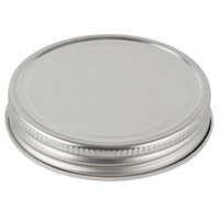 Libbey 92157 Silver Metal 4 oz. Culinary Jar Lid - 36/Case