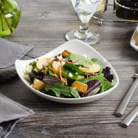 Bon Chef 1200000P Globe 8 oz. White Porcelain Salad Bowl - 36/Case