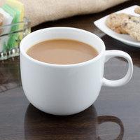 Bon Chef 1200005P Globe 12 oz. White Porcelain Cappuccino Cup - 36/Case
