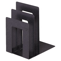 Steelmaster 241873SA3 Soho 5 inch x 7 inch x 8 inch Granite Bookend with Squared Corners
