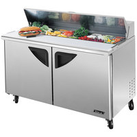 Turbo Air TST-60SD 60 inch 2 Door Refrigerated Sandwich Prep Table