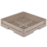 Vollrath CR1 Traex® Full-Size Beige 4 inch Open Rack with Closed Sides