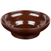 Thunder Group ML352C1 Melamine 8 oz. Chocolate Salsa Dish - 12/Pack