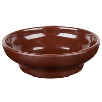 Thunder Group ML351C1 Melamine 4.5 oz. Chocolate Salsa Dish - 12/Pack