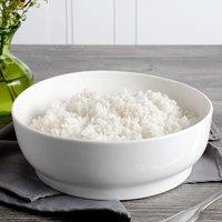 Bon Chef 1500001P Mid Century 72 oz. White Porcelain Bowl - 12/Pack