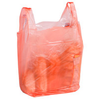 1/6 Size Orange T-Shirt Bag - 1000/Case
