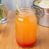 Libbey 92104 8 oz. Drinking Jar / Mason Jar without Handle - 12/Case