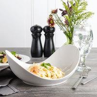 Bon Chef 1200004P Globe 20 oz. White Porcelain Pasta Bowl - 12/Pack