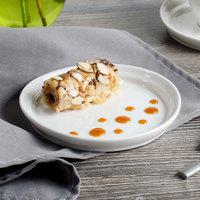 Bon Chef 1500003P Mid Century 6 inch White Porcelain Plate - 36/Case