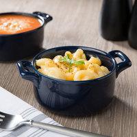 Bon Chef 1600002PCobaltblue 9.5 oz. Cobalt Blue Porcelain Cocotte - 36/Case