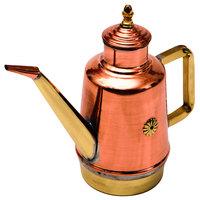 GI Metal OL05 16 oz. Copper / Brass Craft Oil Cruet