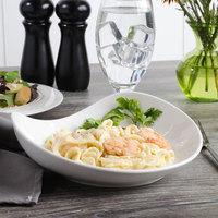 Bon Chef 1200001P Globe 16 oz. White Porcelain Pasta Bowl - 18/Case