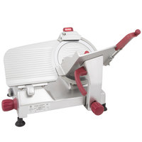 Berkel 825A-PLUS 10 inch Manual Gravity Feed Meat Slicer - 1/3 hp