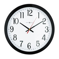 Howard Miller 625166 Gallery 16 inch Black Wall Clock