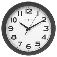 Howard Miller 625485 Kenwick 13 1/2 inch Black Wall Clock