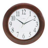 Howard Miller 625214 Corporate 12 3/4 inch Cherry Wall Clock