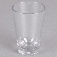 Carlisle 560307 Alibi 3 oz. SAN Plastic Shooter / Dessert Shot Glass   - 24/Case
