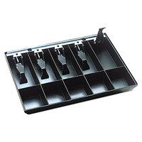 Steelmaster 225286204 16 inch x 11 1/4 inch Black Cash Drawer Tray