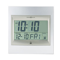 Howard Miller 625236 TechTime II Radio-Controlled LCD Alarm Clock