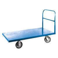 Winholt 3060PU 67 1/8 inch x 30 inch Heavy Duty Steel Utility Cart - 2000 lb. Capacity