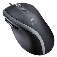 Logitech 910001204 M500 Black / Silver 3-Button Scroll Corded Mouse