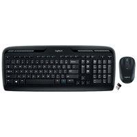 Logitech 920002836 MK320 Wireless Black Keyboard with Mouse