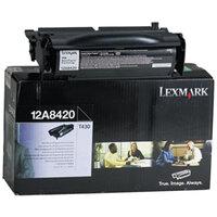 Lexmark 12A8420 Laser Toner Cartridge
