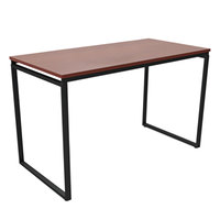 Linea Italia SV750CH Seven Series Cherry Rectangular Desk - 47 1/4 inch x 23 5/8 inch x 29 1/2 inch