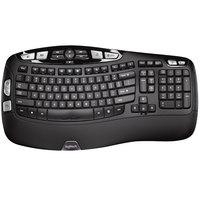 Logitech 920001996 K350 Wireless Black Keyboard