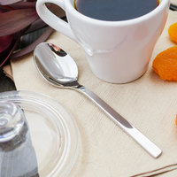 Walco 0929 Semi 4 5/16 inch 18/10 Stainless Steel Extra Heavy Weight Demitasse Spoon - 12/Case