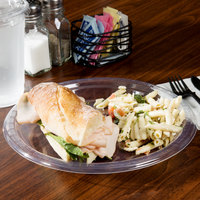 Creative Converting 28114121B 9 inch Clear Plastic Plate - 50/Pack