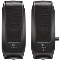 Logitech 980000012 S120 Black 2.0 Multimedia Speaker - 2/Set