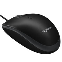 Logitech 910001439 B100 Wired Black Mouse