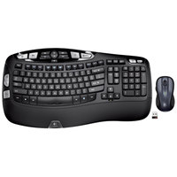 Logitech 920002555 MK550 Wireless Black Keyboard with Mouse