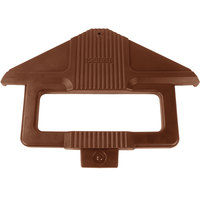 Carlisle 668401 Six Star Brown Sneeze Guard Post