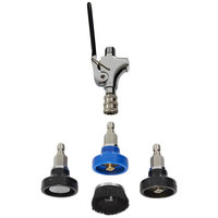 Fisher 29500 Quick Disconnect Spray Valve Set with Long Squeeze Lever